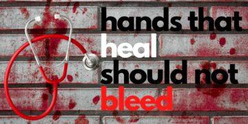 hands that heal should not bleed