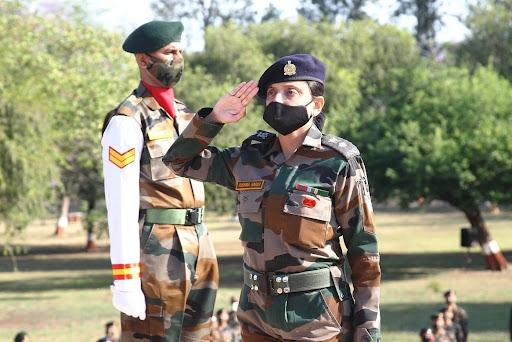 Lt Col Rishma Sarin, Wife of late Major